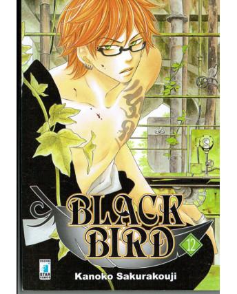 Black Bird 12 di Kanoko Sakurakouji ed.Star Comics