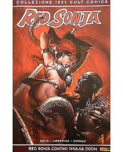 """100% CULT COMICS """" Red Sonja contro Thulsa Doom """"  ed. Panini SCONTO 50%"""