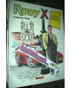 Rudy X Dossier Phoenix cartonato di Traini ed.Comic Art FU02