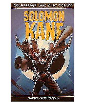 "100% CULT COMICS "" SOLOMON KANE "" ed. Panini SCONTO 50%"