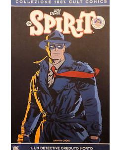 "100% CULT COMICS n. 1 "" The Spirit "" ed. Panini SCONTO 50%"