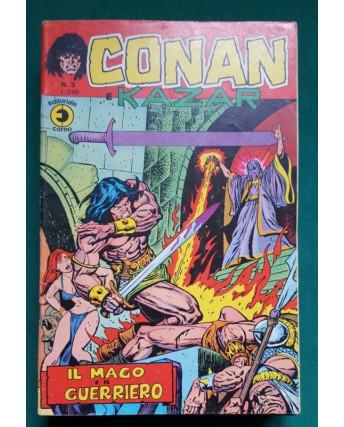 Conan e Kazar n. 3 * ed. Corno
