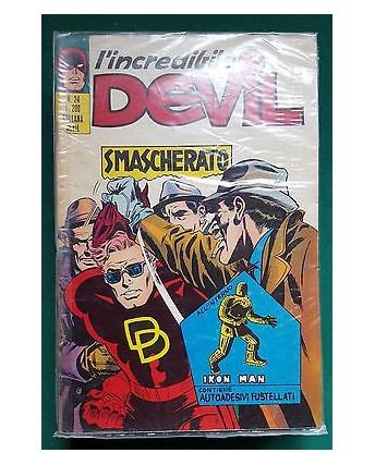 L'Incredibile Devil n. 24 smascherato ed. Corno