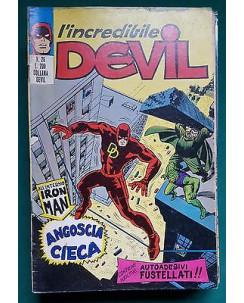 L'Incredibile Devil n. 26 * di resa * ed. Corno