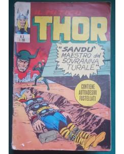 Thor n.  3 Sandu maestro del soprannaturale DI RESA ed. Corno