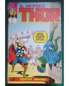 Thor n.  7 il Cobra umano DI RESA ed. Corno