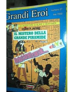 Grandi Eroi n.27 Blake e Mortimer il mistero della grande pira ed.Comic Art FU01