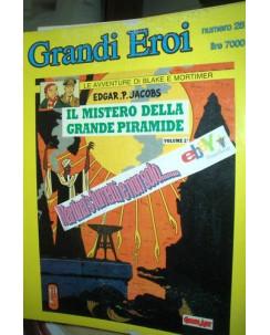 Grandi Eroi n.28 Blake e Mortimer il mistero della grande pira ed.Comic Art FU01