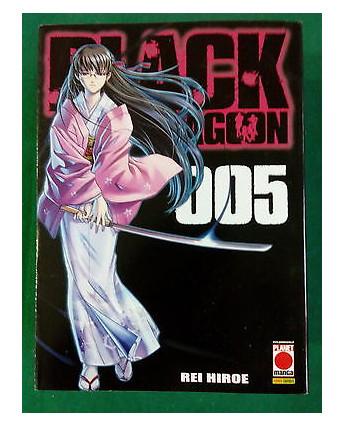 Black Lagoon n. 5 di Rei Hiroe - ed. Planet Manga