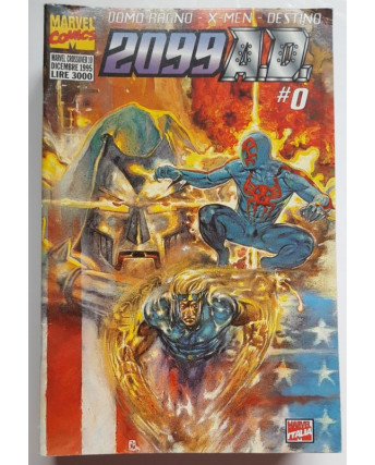 Marvel Crossover n. 10 Uomo Ragno X-Men Destino 2099 A.D.  0 ed. Marvel Italia