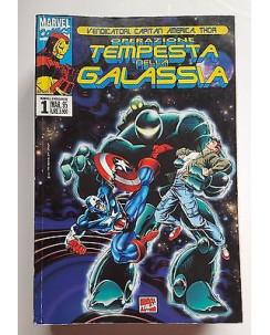 Marvel Crossover n.  1 Vendicatori Capitan America Thor ed. Marvel Italia