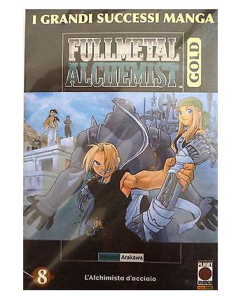 Fullmetal Alchemist Gold 8 di Hiromu Arakawa ed Panini