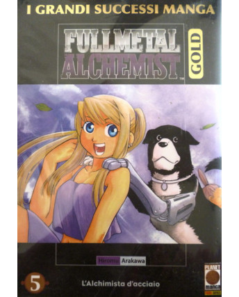 Fullmetal Alchemist Gold Deluxe n. 5 di Hiromu Arakawa ed Panini
