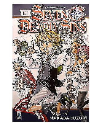 The Seven Deadly Sins n. 8  ed Star Comics sconto 10%