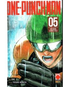 ONE-PUNCH MAN  5 prima edizione di One/Murata ed.Panini
