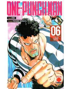 ONE-PUNCH MAN  6 prima edizione di One/Murata ed.Panini