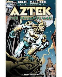 AZTEK di Grant Morrison the ultimate man ed.Planeta NUOVO sconto 40%