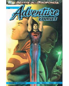 Adeventure Comics la notte più prodonda di G.Johns ed.Planeta sconto 40%