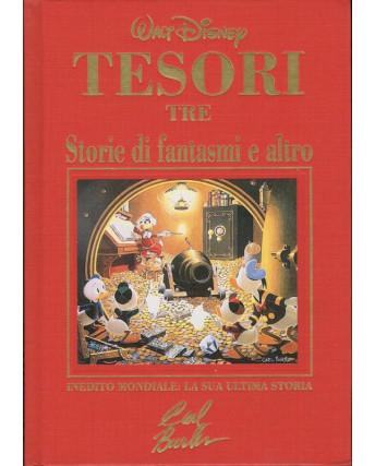 Tesori tre:storie di fantasmi di Carl Barks ediz.cartonata