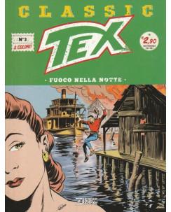 """Classic TEX  3 a colori """"fuoco nella notte"""" ed.Bonelli"""
