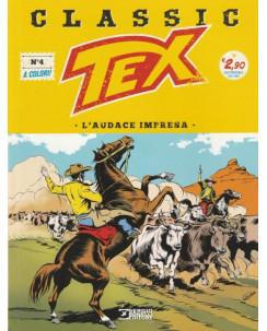 """Classic TEX  4 a colori """"l'audace impresa"""" ed.Bonelli"""