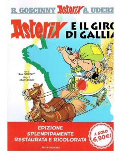 ASTERIX  5 Asterix e il giro di Gallia di Uderzo ed.Mondadori sconto 50%  FU06