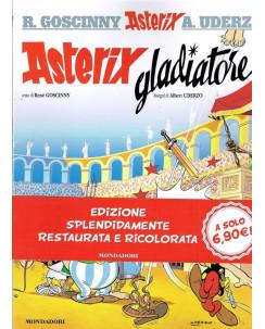 ASTERIX  4 Asterix gladiatore di Uderzo ed.Mondadori sconto 50%  FU06