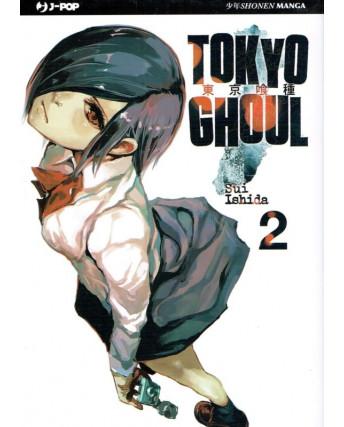 Tokyo Ghoul n. 2 di Sui Ishida - NUOVO!!! - ed. J-Pop