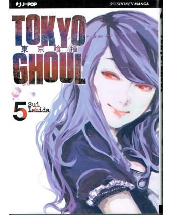 Tokyo Ghoul n. 5 di Sui Ishida - NUOVO!!! - ed. J-Pop