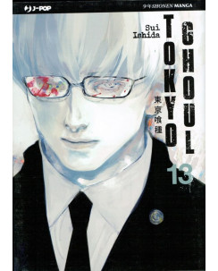 Tokyo Ghoul n.13 di Sui Ishida - NUOVO!!! - ed. J-Pop