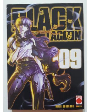 Black Lagoon n. 9 di Rei Hiroe - PRIMA EDIZIONE ed. Planet Manga