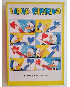 ARTBOOK I Love Paperino [Pratt, Manara, Pazienza, Liberatore, Crepax,Altan] FU02
