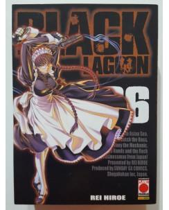 Black Lagoon n. 6 di Rei Hiroe - PRIMA EDIZIONE ed. Planet Manga