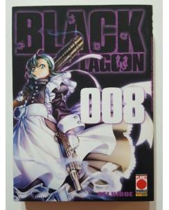 Black Lagoon n. 8 di Rei Hiroe - PRIMA EDIZIONE ed. Planet Manga