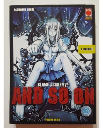 Blame Academy! An So On volume unico di Tsutomu Nihei -20% ed. Panini
