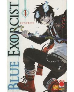 Blue Exorcist n. 1 di Kazue Kato - Prima Edizione Panini