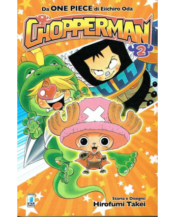 CHOPPERMAN  2 di E.Oda autore One Piece ed.Star Comics OFFERTA sconto 50%