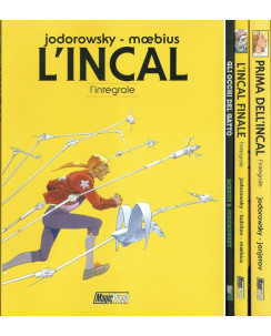 L'INCAL + FINALE + PRIMA + omaggio Occhi Gatto di Jodorowsky ed.Magic Press