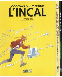 L'INCAL + Folle Sacro Cuore + Occhi Gatto Jodorowsky MOEBIUS PACK ed.Magic Press