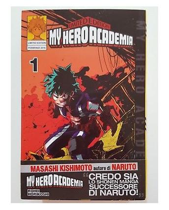 My Hero Academia 1 LIMITED di K.Horikoshi ed.Star Comics NUOVO