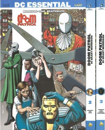 DC ESSENTIAL: Doom Patrol 1/4 di Grant Morrison ed.Lion NUOVI sconto 20% FU06
