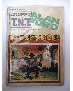 Alan Ford Gruppo TNT n.  3 * Magnus & Max Bunker * Ed. Corno