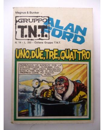 Alan Ford Gruppo TNT n. 14 * Magnus & Max Bunker * Ed. Corno
