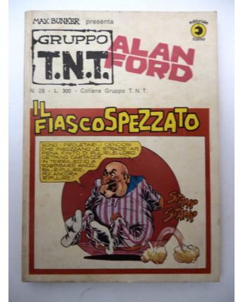Alan Ford Gruppo TNT n. 28 * Magnus & Max Bunker * Ed. Corno