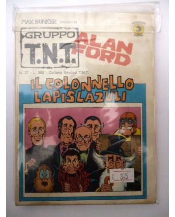 Alan Ford Gruppo TNT n. 37 * Magnus & Max Bunker * Ed. Corno