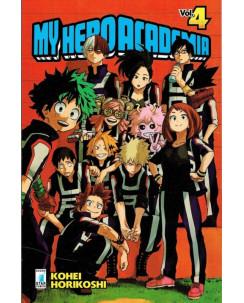 My Hero Academia  4 di K.Horikoshi ed.Star Comics NUOVO