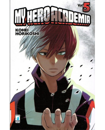 My Hero Academia  5 di K.Horikoshi ed.Star Comics NUOVO