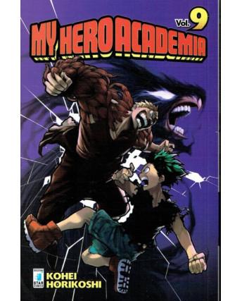 My Hero Academia  9 di K.Horikoshi ed.Star Comics NUOVO
