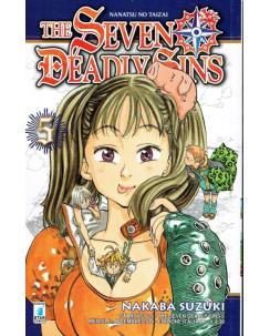 The Seven Deadly Sins n. 5 di N.SAuzuki ed Star Comics