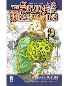 The Seven Deadly Sins n. 4 di N.SAuzuki ed Star Comics